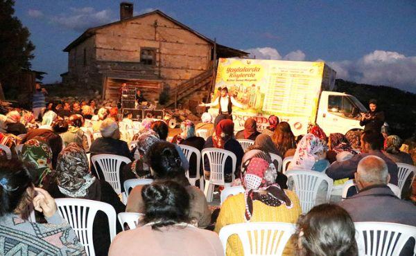 Köy seyirliklerine büyük ilgi!