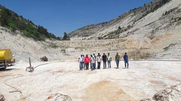Aksıfat Barajı'nın yarısı bitti!