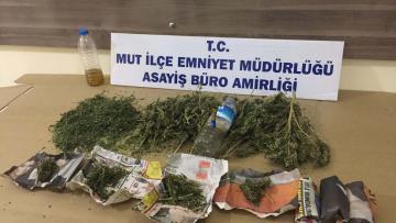 Mersin'de uyuşturucu operasyonu!