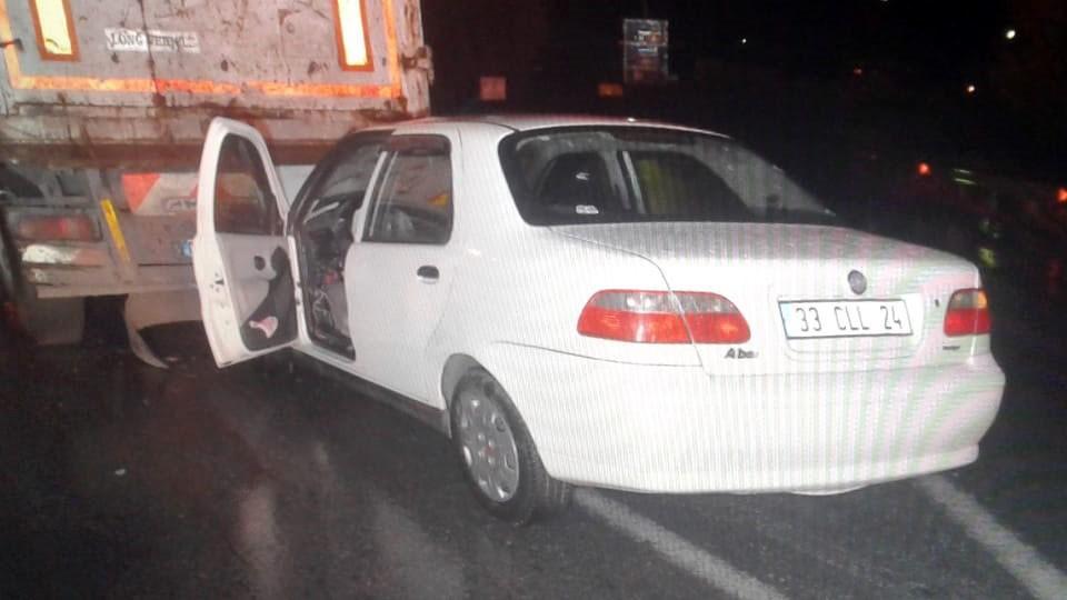 Tarsus'ta ölümlü trafik kazası!