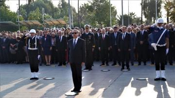 Atatürk, Mersin'de anıldı!