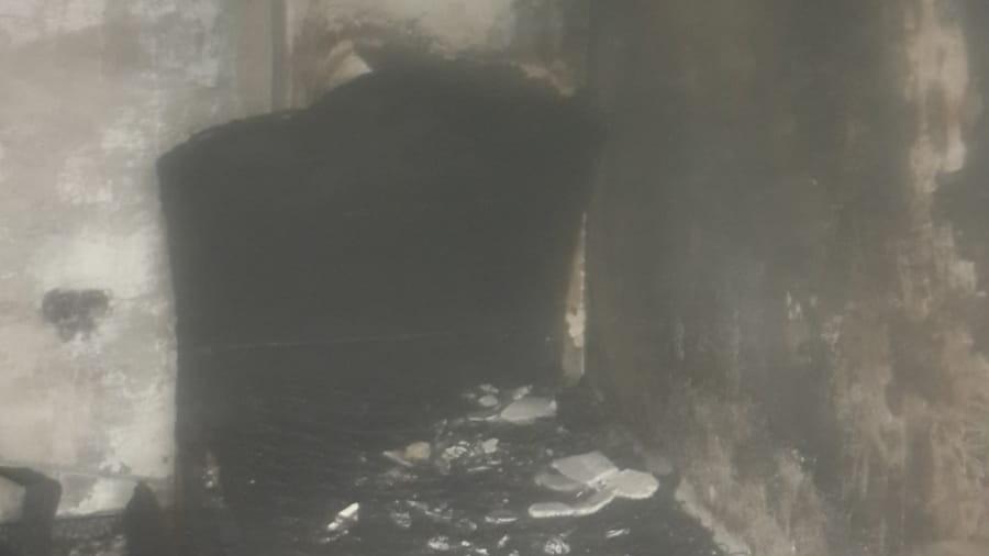 Tarsus'ta korkutan yangın!