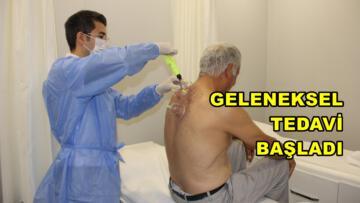 Hacamat, Mersin Şehir Hastanesi'nde!