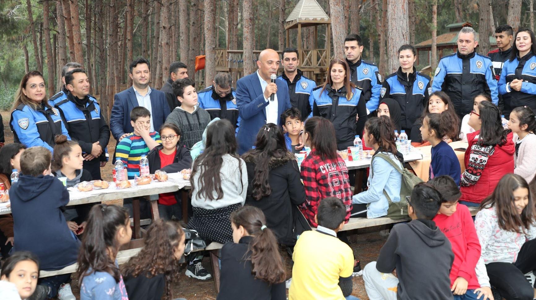 Emniyet Müdürü Şahne, çocuklarla piknikte buluştu!