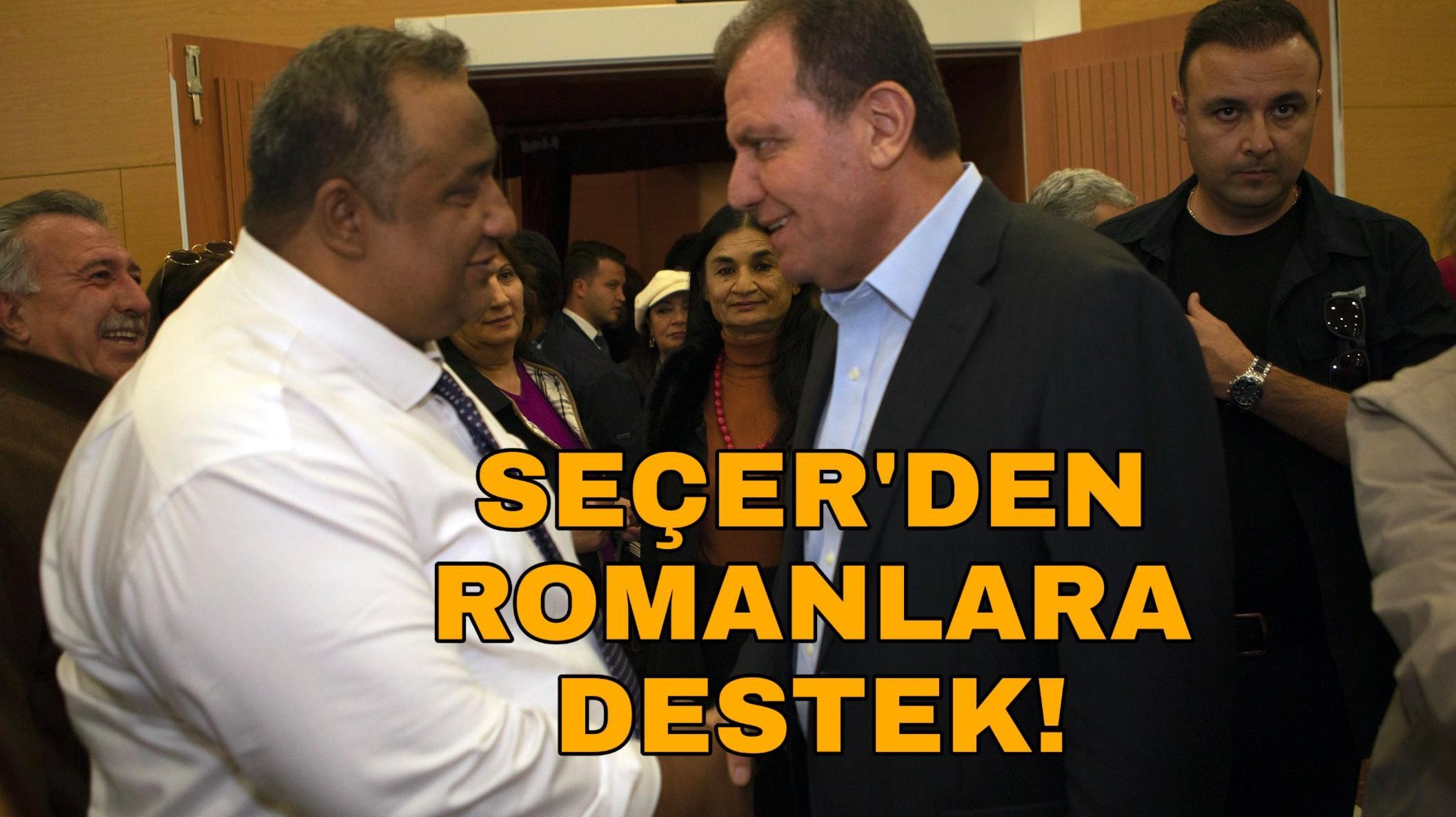 Başkan Seçer, Romanlarla buluştu!