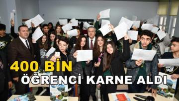 Mersin'de karneler dağıtıldı!