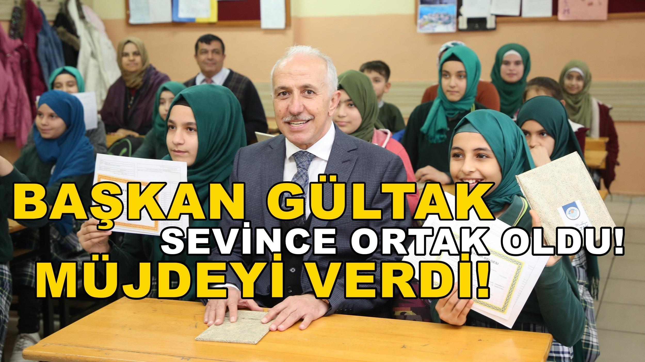 Başkan Gültak'tan öğrencilere müjde!