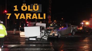 Mersin'de misafirlik dönüşü feci kaza!