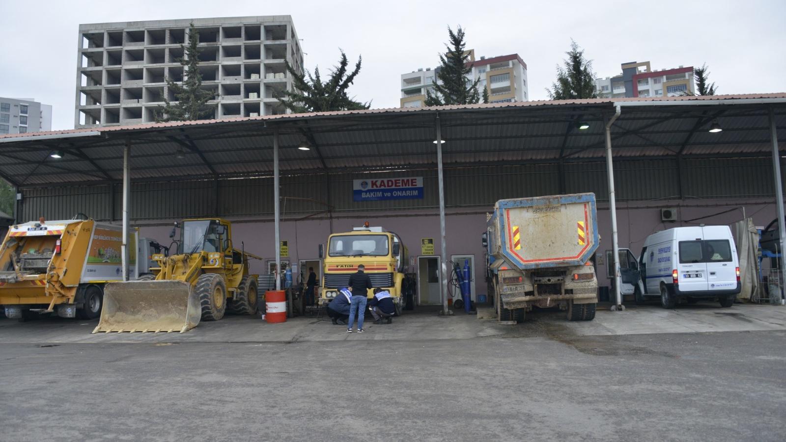 Yenişehir'de atılı araçlar yenileniyor!