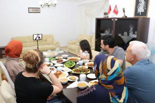 Ramazan programı özel bir yayınla sona erdi