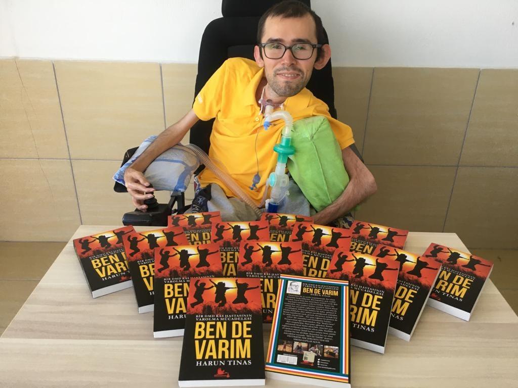 """Harun Tınas'ın """"Ben de Varım"""" kitabı yayınlandı"""