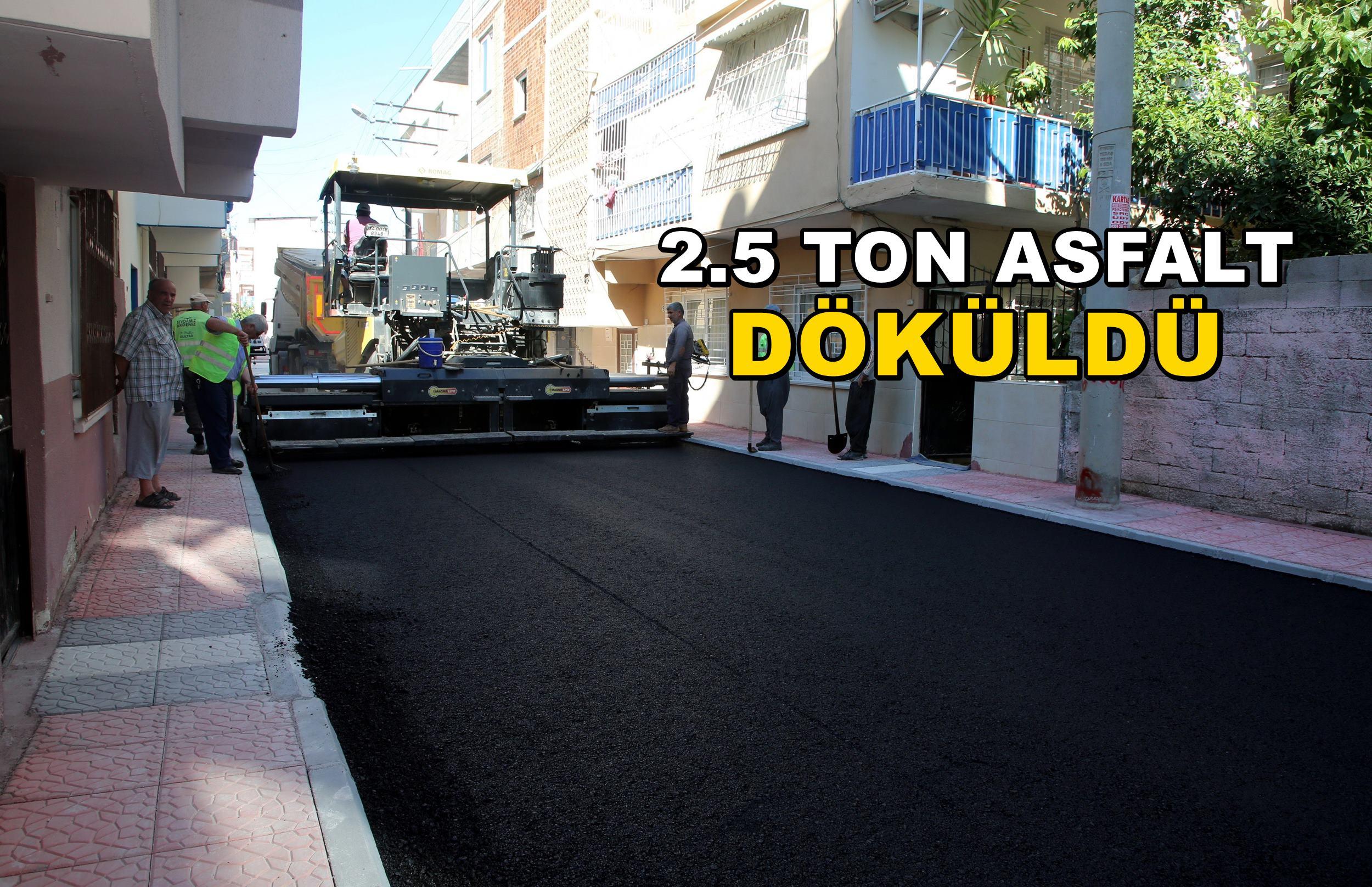 Siteler'in sokakları yenilendi