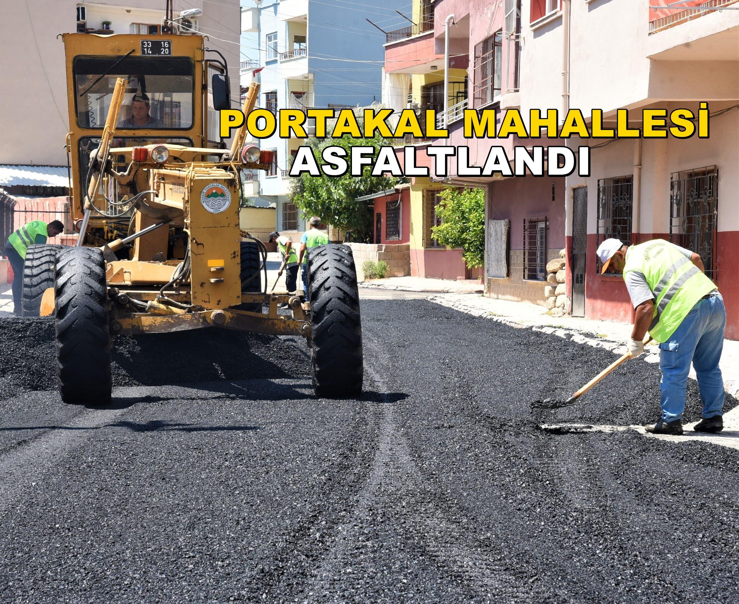 Toroslar'da asfalt çalışmaları devam ediyor