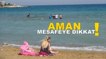 Tatilciler Mersin'e gelmeye başladı