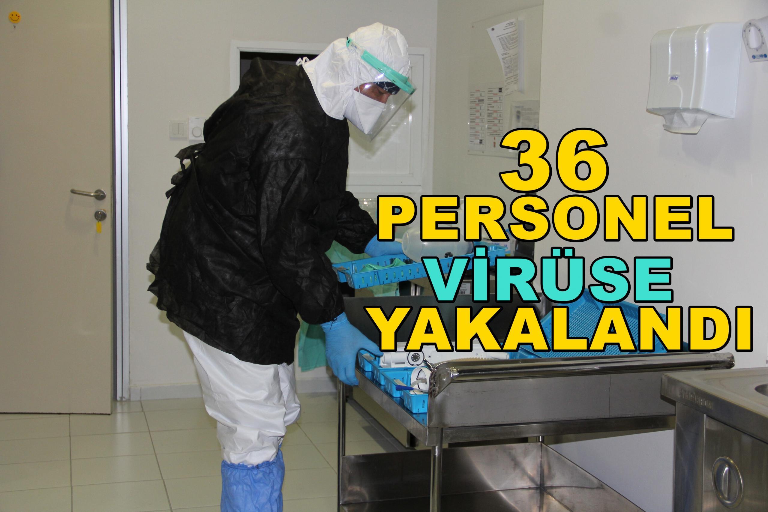 Virüs MEÜ personeline sıçradı!
