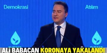 Ali Babacan, virüse yakalandı!