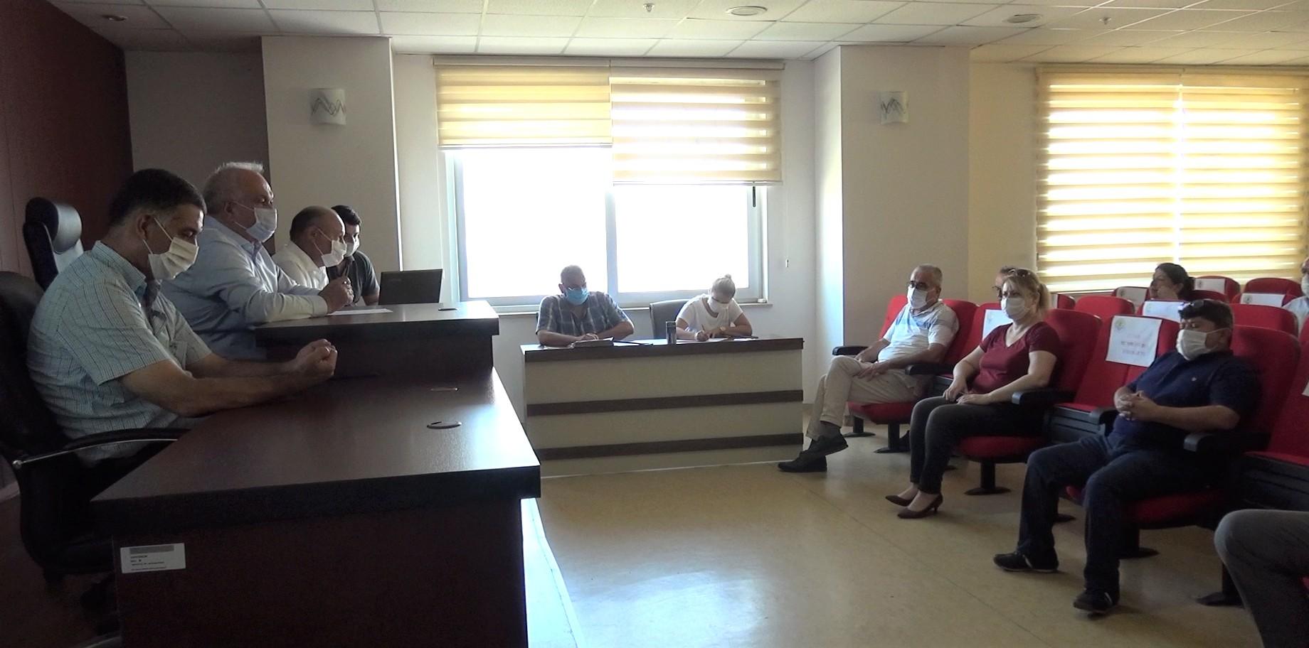 Erdemli, Ağustos Ayı Meclis Toplantısı yapıldı