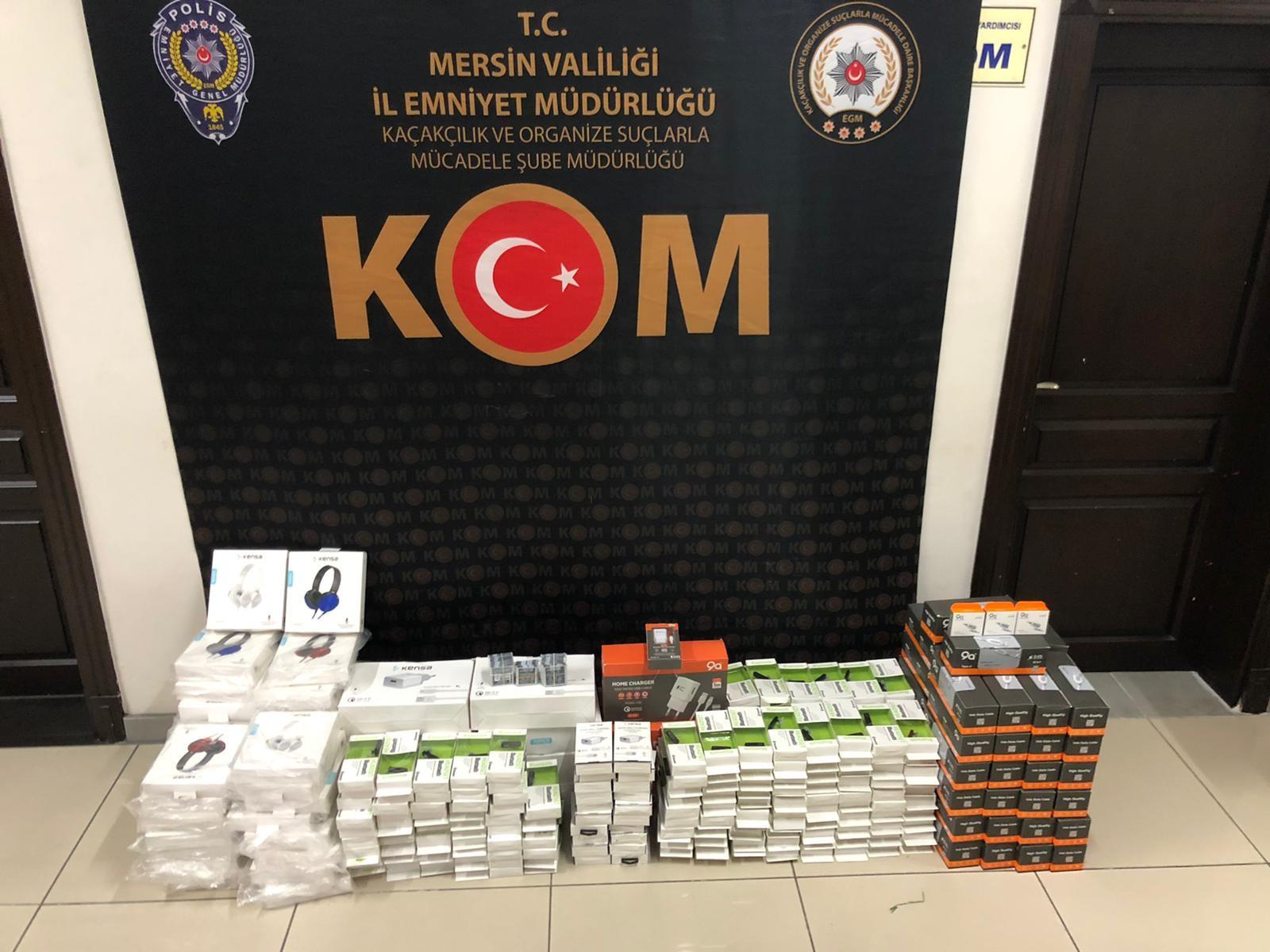 Mersin'de 975 litre sahte etil alkol ele geçirildi