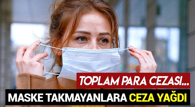 Mersin'de 2 bin 358 kişiye maske takmama cezası!