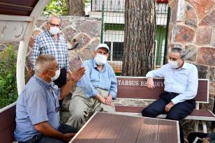 Vali Su, Tarsus'ta vatandaşlarla buluştu