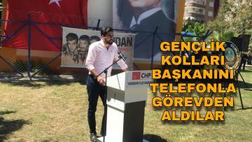 CHP Mersin'de gençlik kolları karıştı!