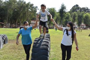 Özel çocuklar Tarsus Gençlik Kampında doğayla buluştu