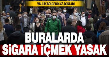Tarsus'ta sigara içme yasağının olduğu yerler!