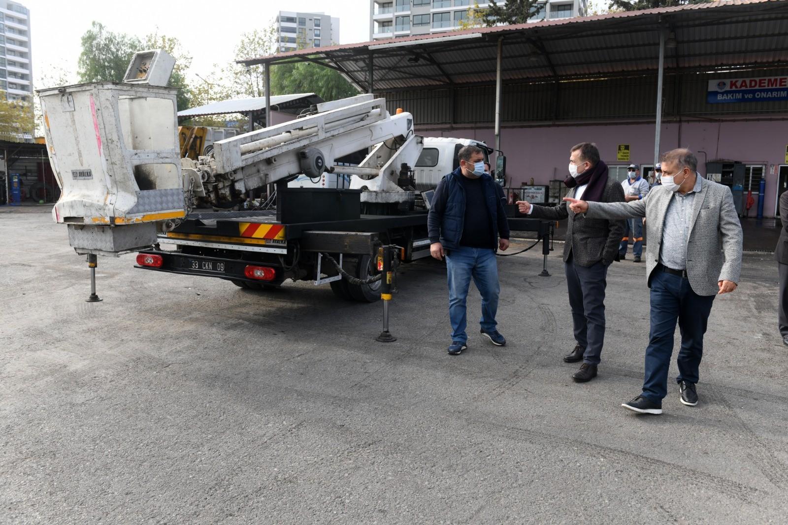 Yenişehir, atıl durumdaki araçları hizmete kazandırıyor