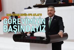 Hacı Özkan, koronavirüsü atlattı!