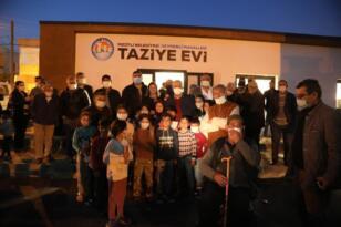 Mezitli'de 3. taziye evi açıldı