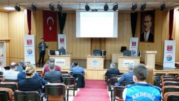 Akdeniz Belediyesi personeline Kişisel Verilerin Korunması Kanunu anlatıldı