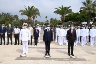 Refah Şilebinde şehit olan 167 denizci törenle anıldı