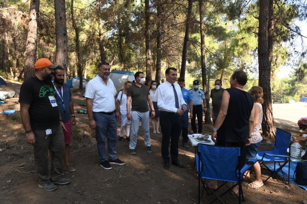 Yenişehir'de kamp etkinliği başladı
