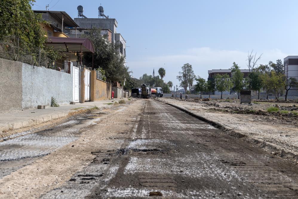Çay Mahallesi'nde asfalt çalışması başladı