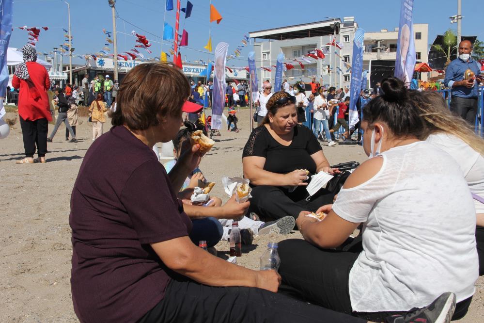 Mersin'de Karaduvar Balık Festivali coşkusu yaşandı