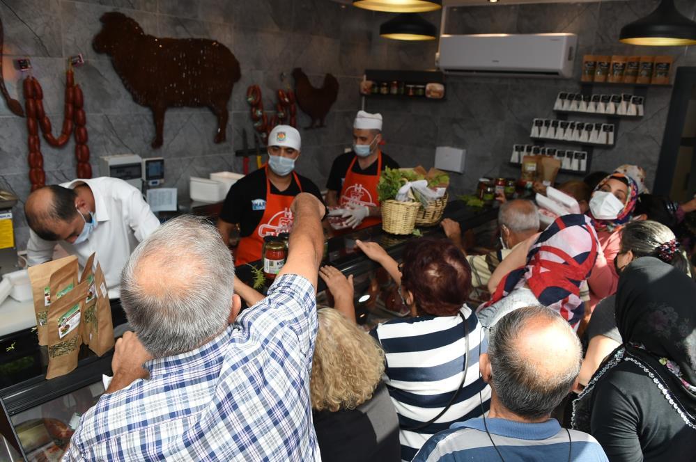 Tarsus Belediyesi, ucuz et satışına başladı