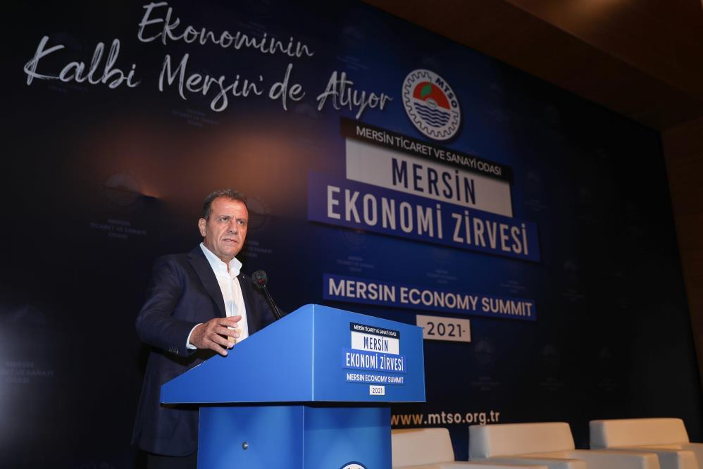 Başkan Seçer, Mersin Ekonomi Zirvesine katıldı