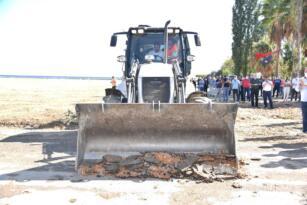 Başkan Kılınç, Sahil Projesi İçin Kolları Sıvadı